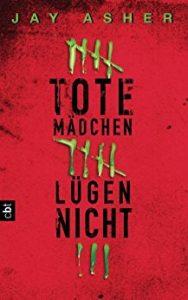 Tote Mädchen lügen nicht - Originalcover vom cbt Verlag
