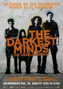 The Darkest Minds - Die Überlebenden - Filmplakat